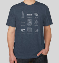 Load image into Gallery viewer, Short Sleeve 'Montessori Material' T-Shirt (Unisex)