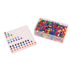 Montessori Peg Board with 1000 Pegs for Mrs Laresen's Class