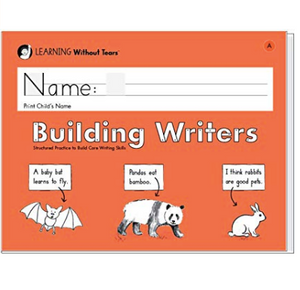 Building Writers Student Workbook A, Kindergarten Writing for Mrs. Lamb's Class