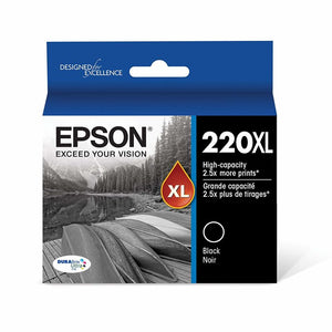 Epson T220XL120-S DURA Ultra Black High Capacity Cartridge Ink for MMA