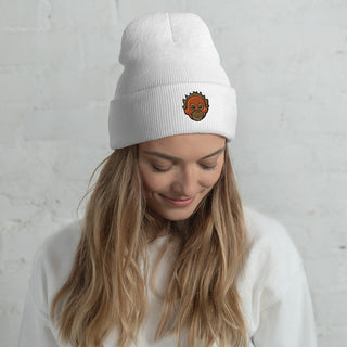Embroidered Orangutan Beanie Hat