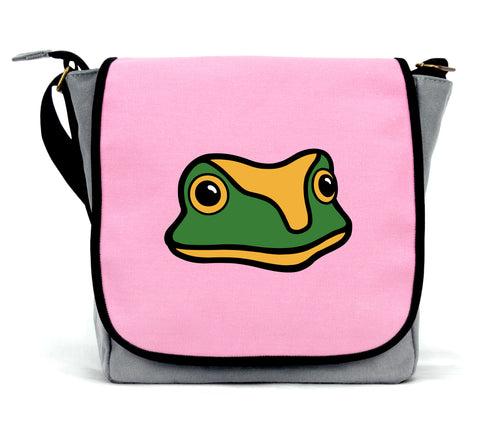 Frog Messenger Bag