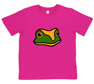girls frog t-shirt pink