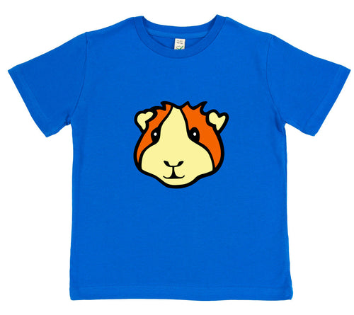 boys guinea pig t-shirt blue