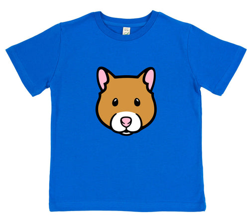 boys hamster t-shirt blue