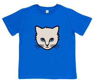 girls cat t-shirt pink