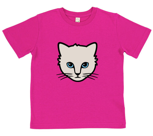 boys cat t-shirt blue