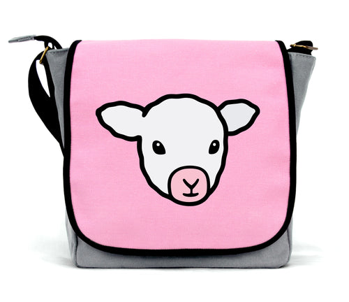 Lamb Messenger Bag