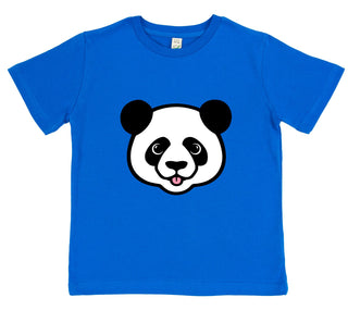 boys panda t-shirt blue