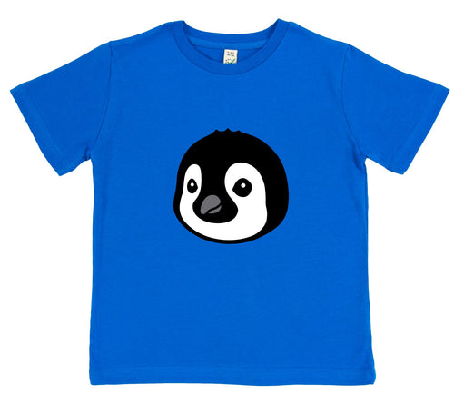 boys penguin t-shirt blue