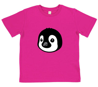 girls penguin t-shirt pink