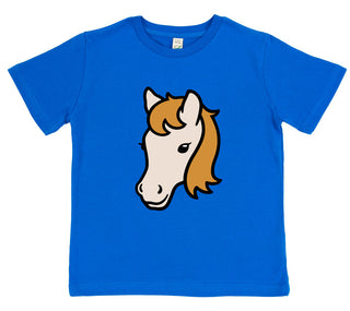 girls horse t-shirt pink