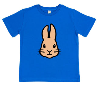 girls rabbit t-shirt pink