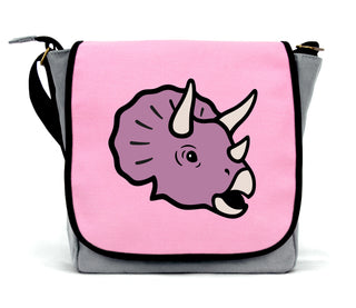 Triceratops Messenger Bag
