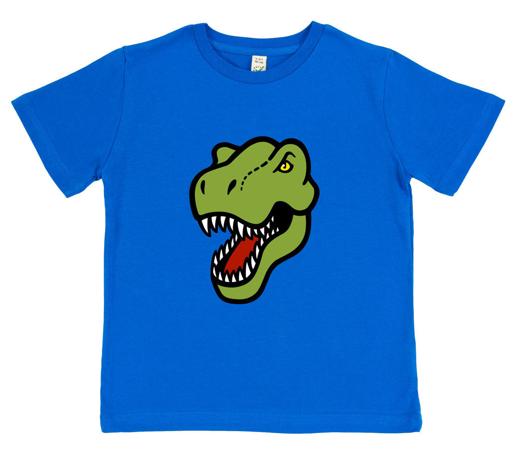 boys dinosaur t-shirt blue T-rex