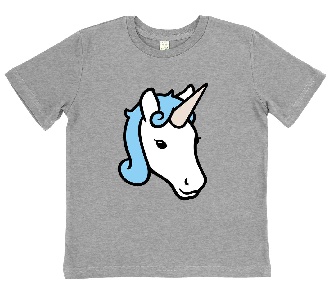 2e5f40e26 Kids Unicorn T-shirt | Organic Cotton | Clumsy Hooves