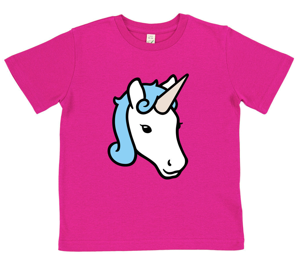 boys unicorn t-shirt blue