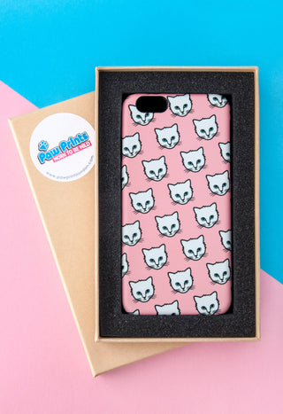 Cat Phone Case With Gift Box