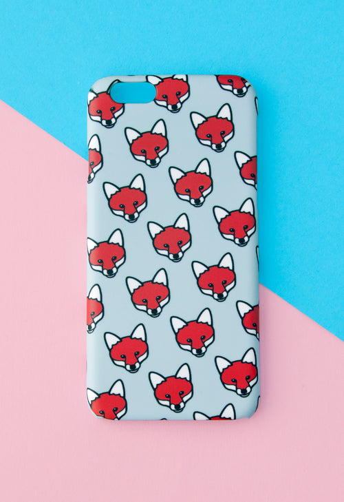 Fox Phone Case With Gift Box