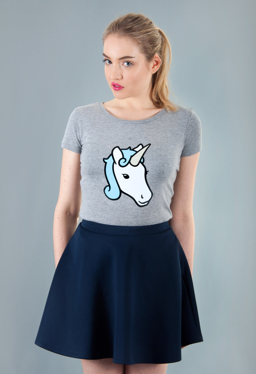 grey unicorn t-shirt