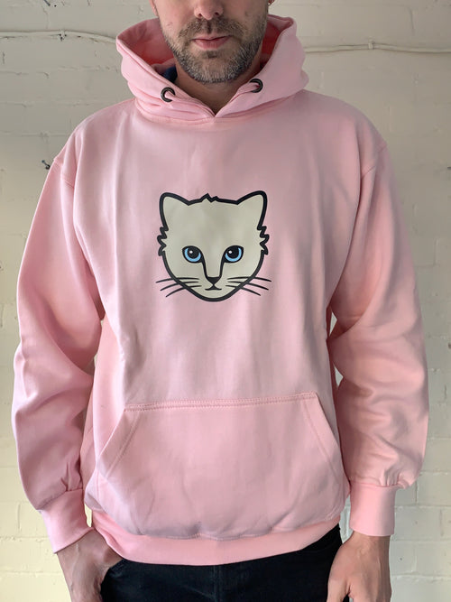 Extra Large Unisex Cat Hoodie (clearance)