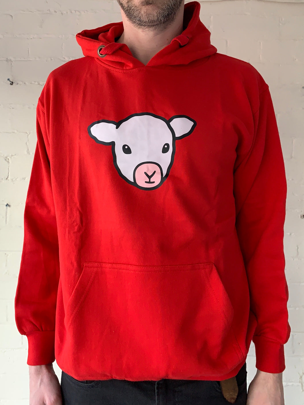 Large Unisex Lamb Hoodie (clearance)