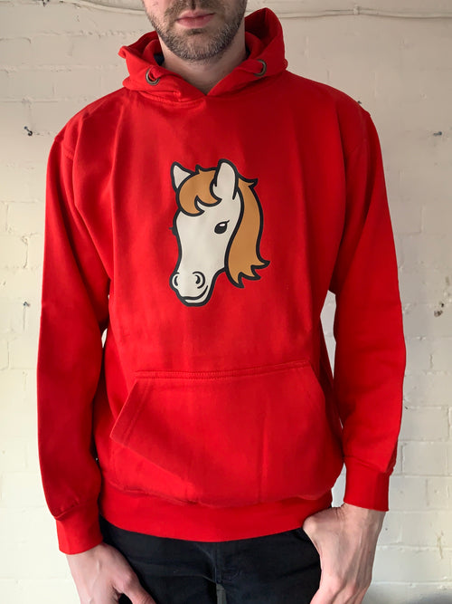Large Unisex Horse Hoodie (clearance)