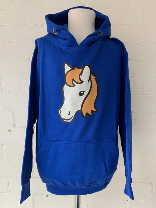 Small Unisex Horse Hoodie (clearance)