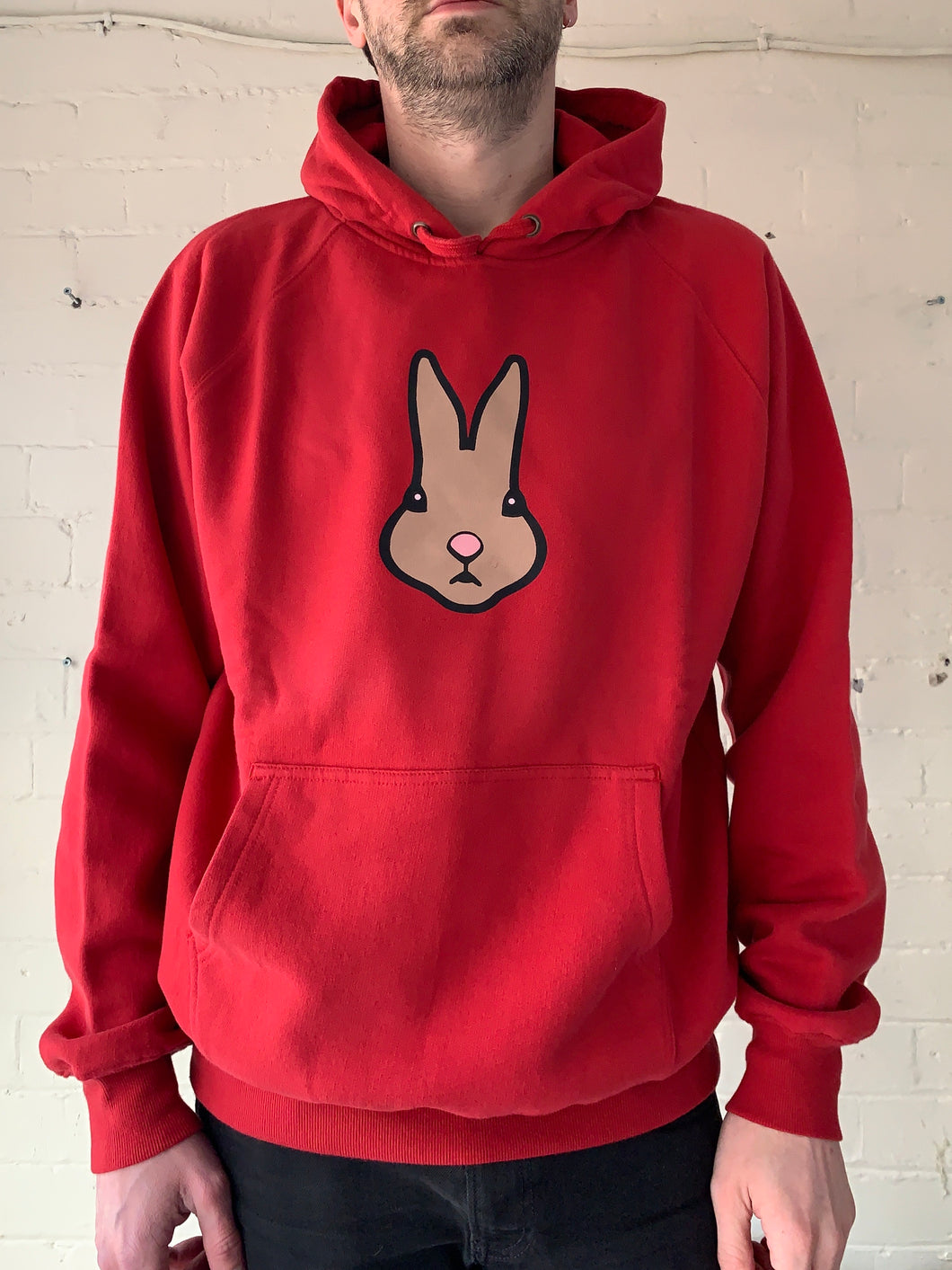 Extra Large Unisex Rabbit Hoodie (clearance)
