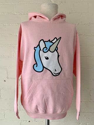 Kids 11-12 Unicorn Hoodie (seconds)