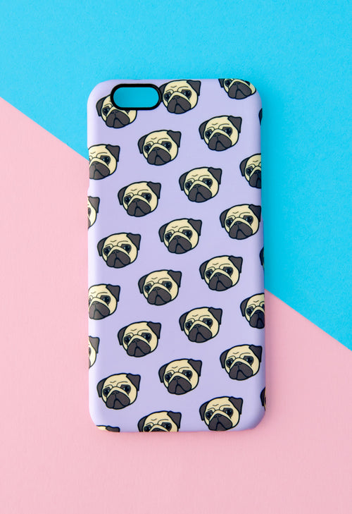 Pug Phone Case With Gift Box