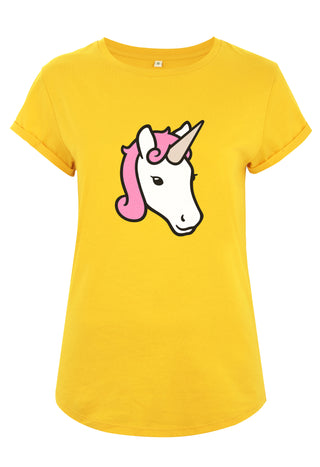 Unicorn Rolled Sleeve T-Shirt