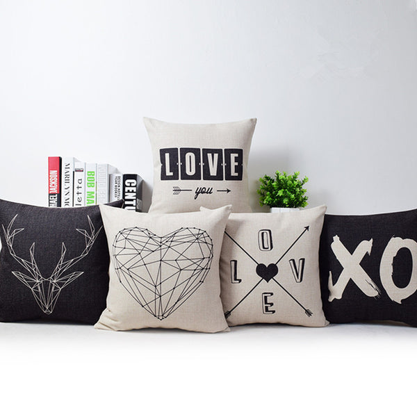 Super Love Pillow Cover