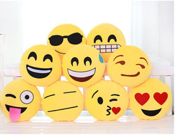 Love Emoji Round Cushion - Free Shipping