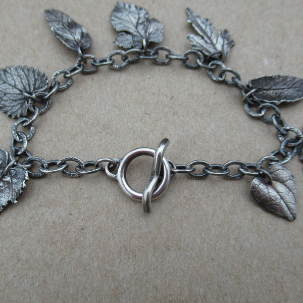 Toggle Clasp Leaf Bracelet from PartsbyNC