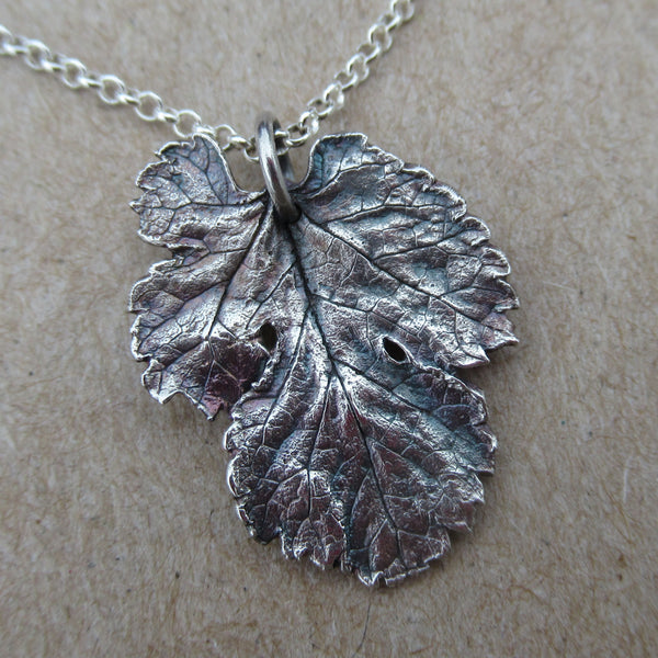 Fine SIlver Mulberry Leaf from PartsbyNC