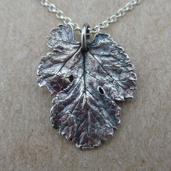 Mulberry Leaf Pendant from PartsbyNC