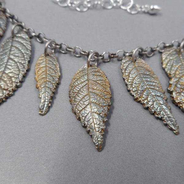 Walnut Leaves with Patina from PartsbyNC