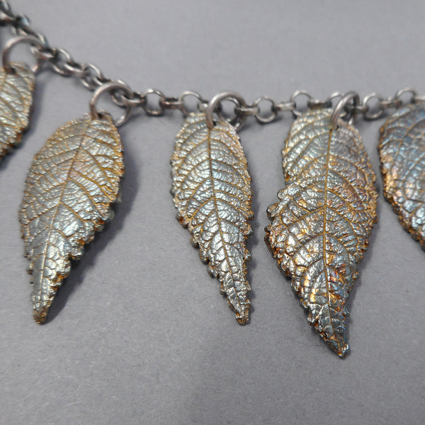 One of a Kind Leaf Jewelry from PartsbyNC