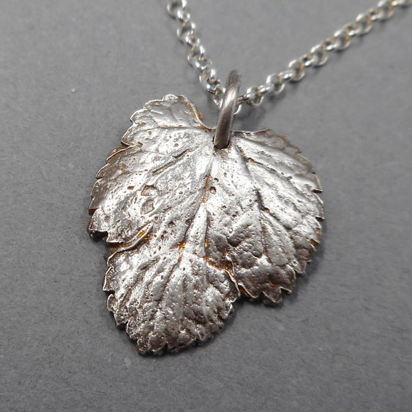 Eco-Friendly Mulberry Tree Necklace from PartsbyNC