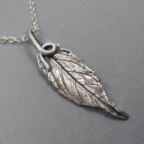 Fine Silver Black Swallow-Wort Pendant from PartsbyNC