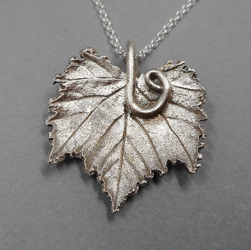 One of a Kind Grape Leaf Necklace from PartsbyNC