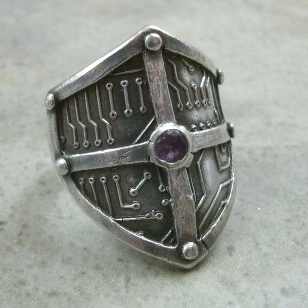 Cyber Shield Ring from PartsbyNC