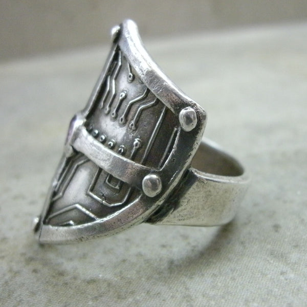 Medieval Circuit Board Ring from PartsbyNC