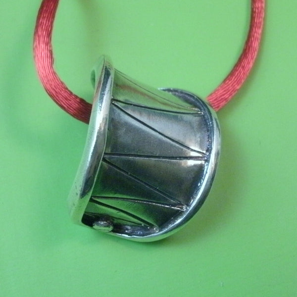 Booby Trap Pendant in Sterling Silver - PartsbyNC Industrial Jewelry