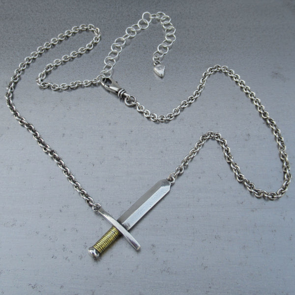 Sword Necklace from PartsbyNC