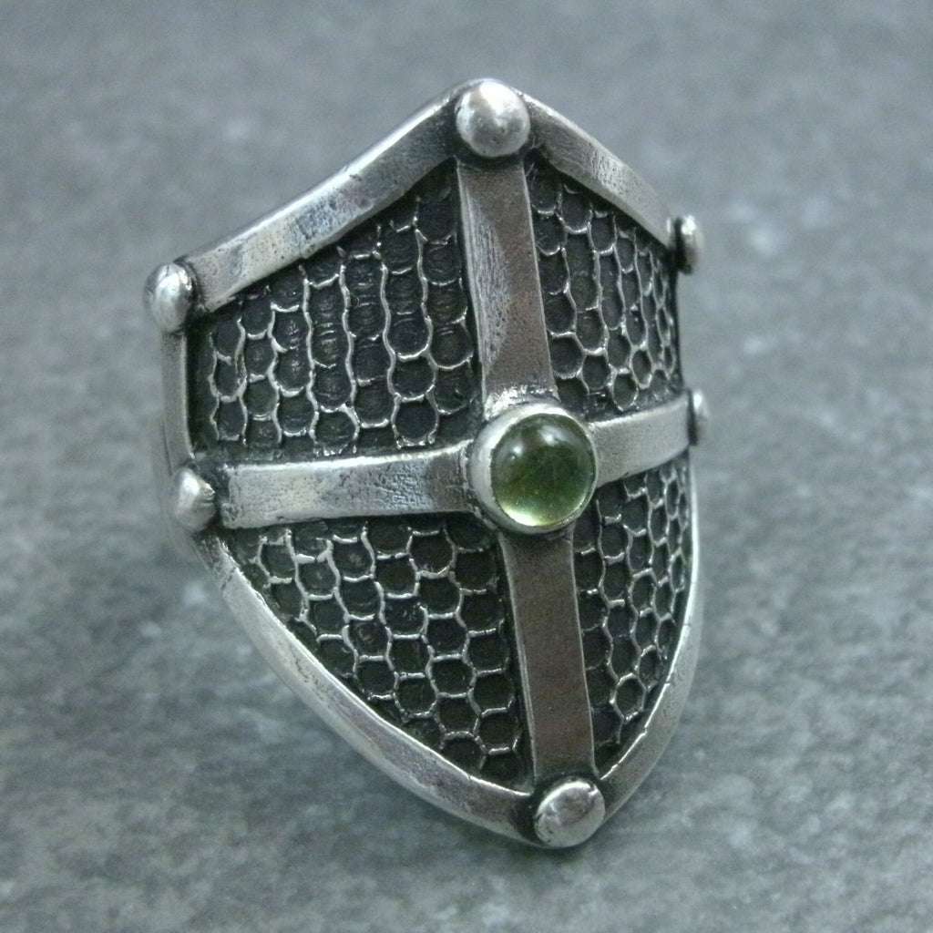 Grate Texture Shield Ring from PartsbyNC