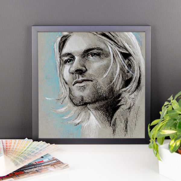 Framed Poster - Kurt