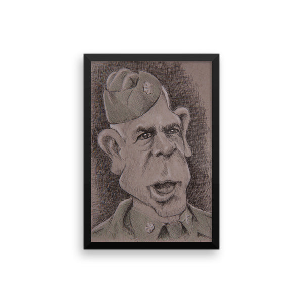 Framed Photo Paper Poster - Colonel
