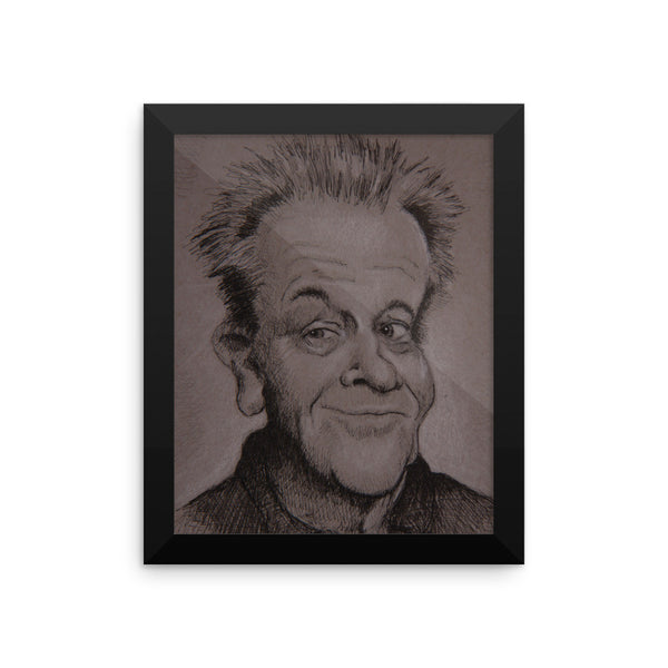Framed Photo Paper Poster - Jack
